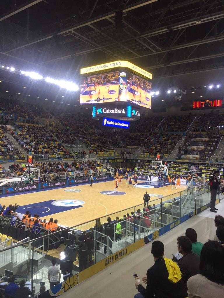 Connor Sports Returns to Spain as Official Court of the 2015 ACB Copa Del Rey