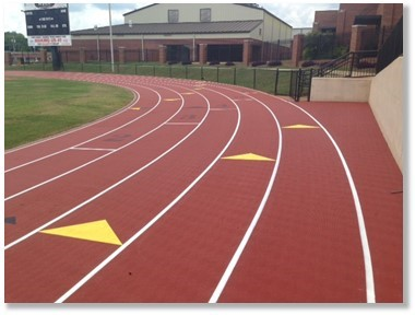 ProTraxx outdoor running track | Connor Sports Traction Systems