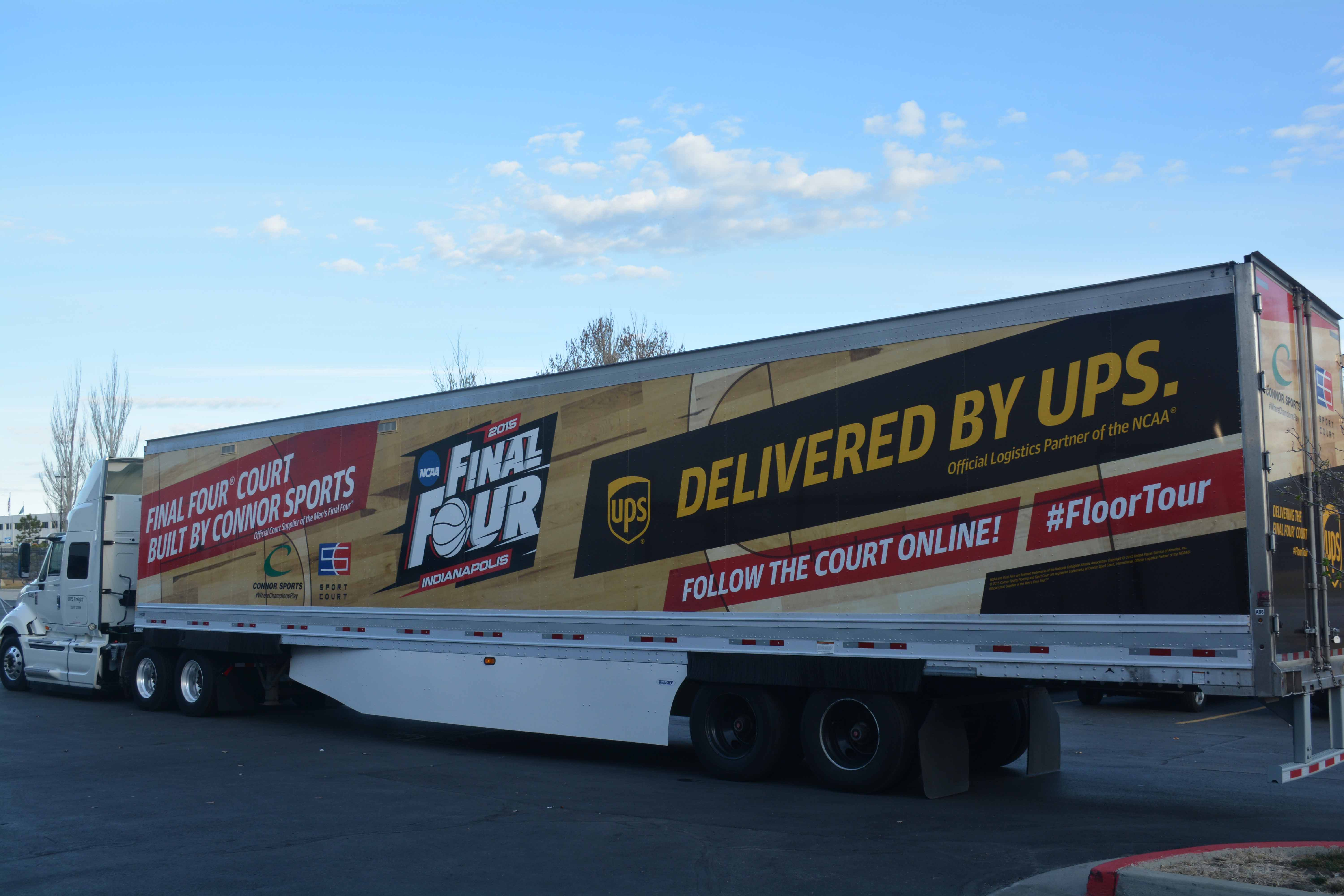 Connor Sports, Sport Court and UPS Joined Forces to Bring the Final Four Court Tour on the Road