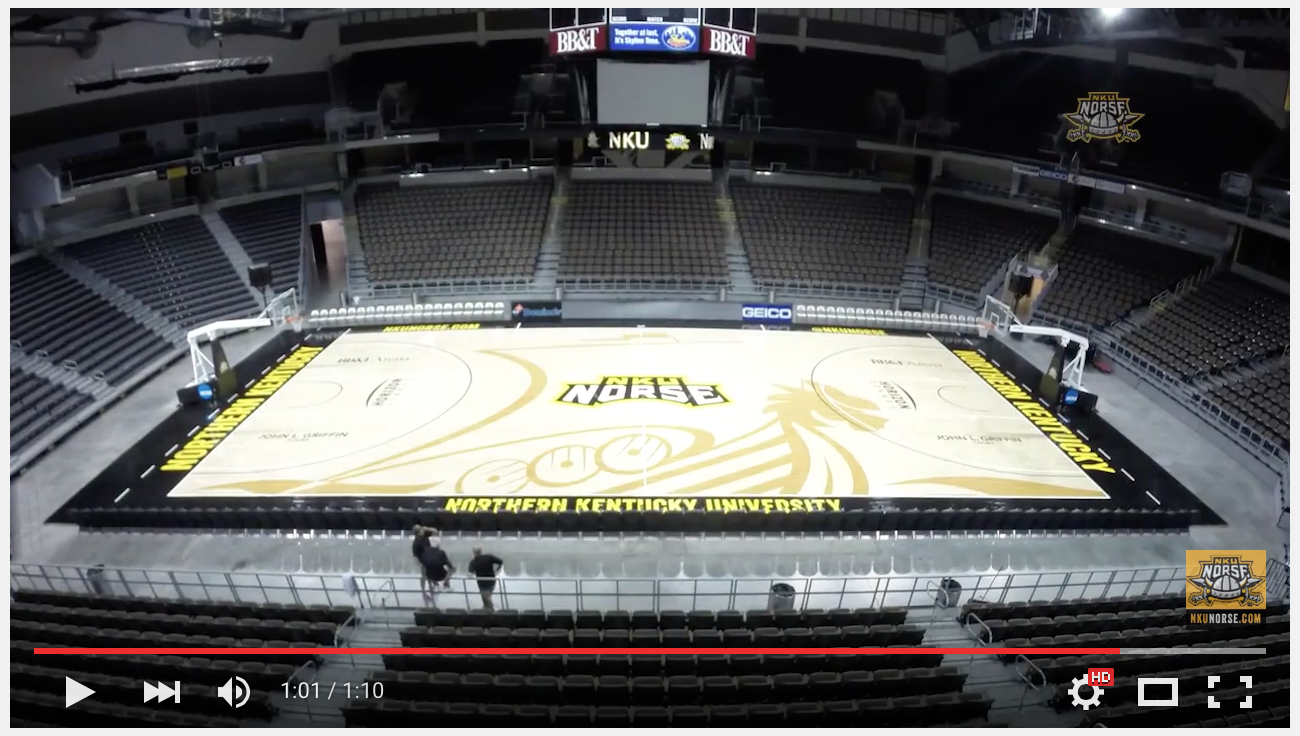 Connor Sports and Praters Flooring Redesign Northern Kentucky's Court
