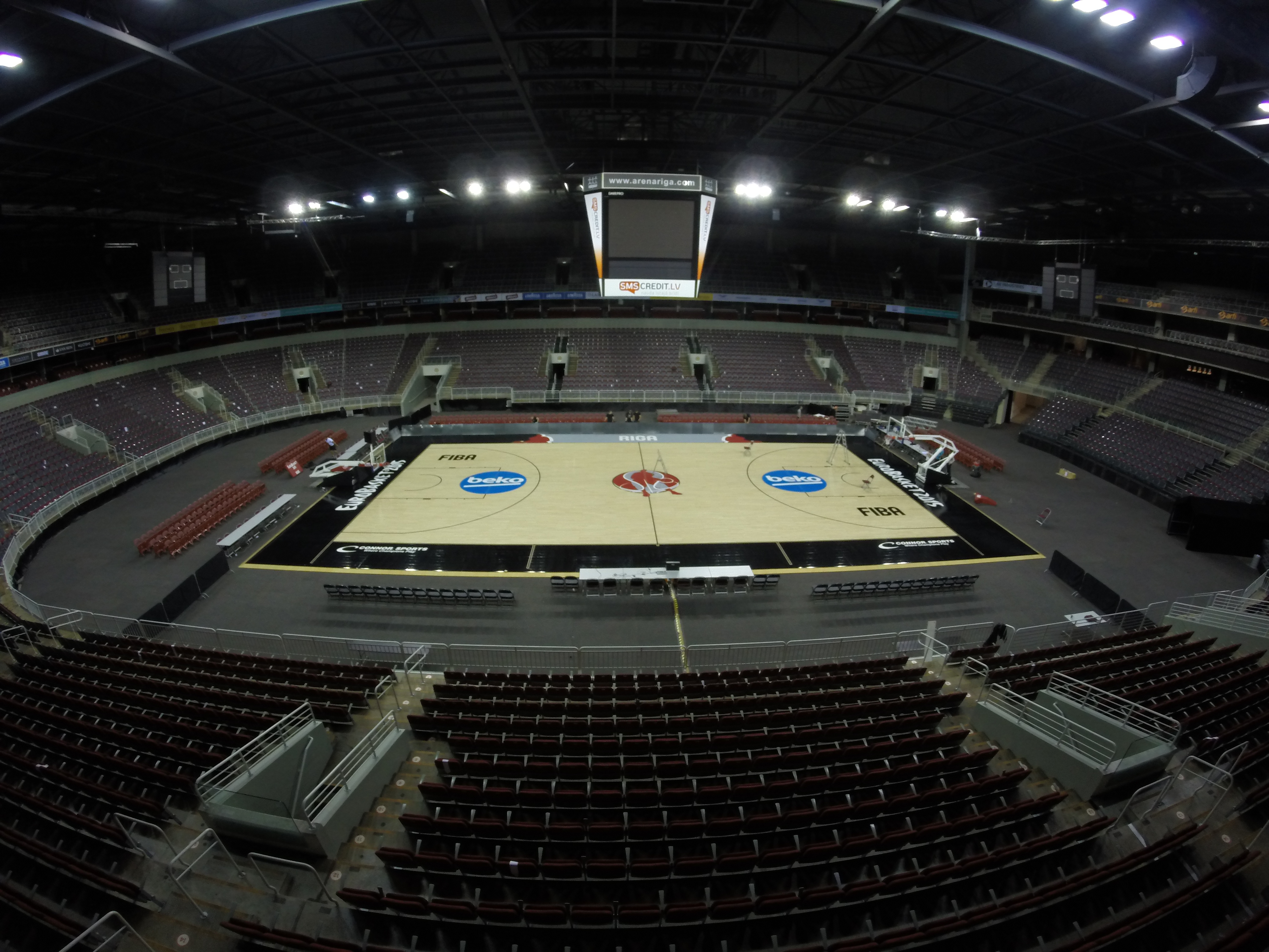 Stories from the #OfficialCourt of EuroBasket 2015: Riga, Latvia