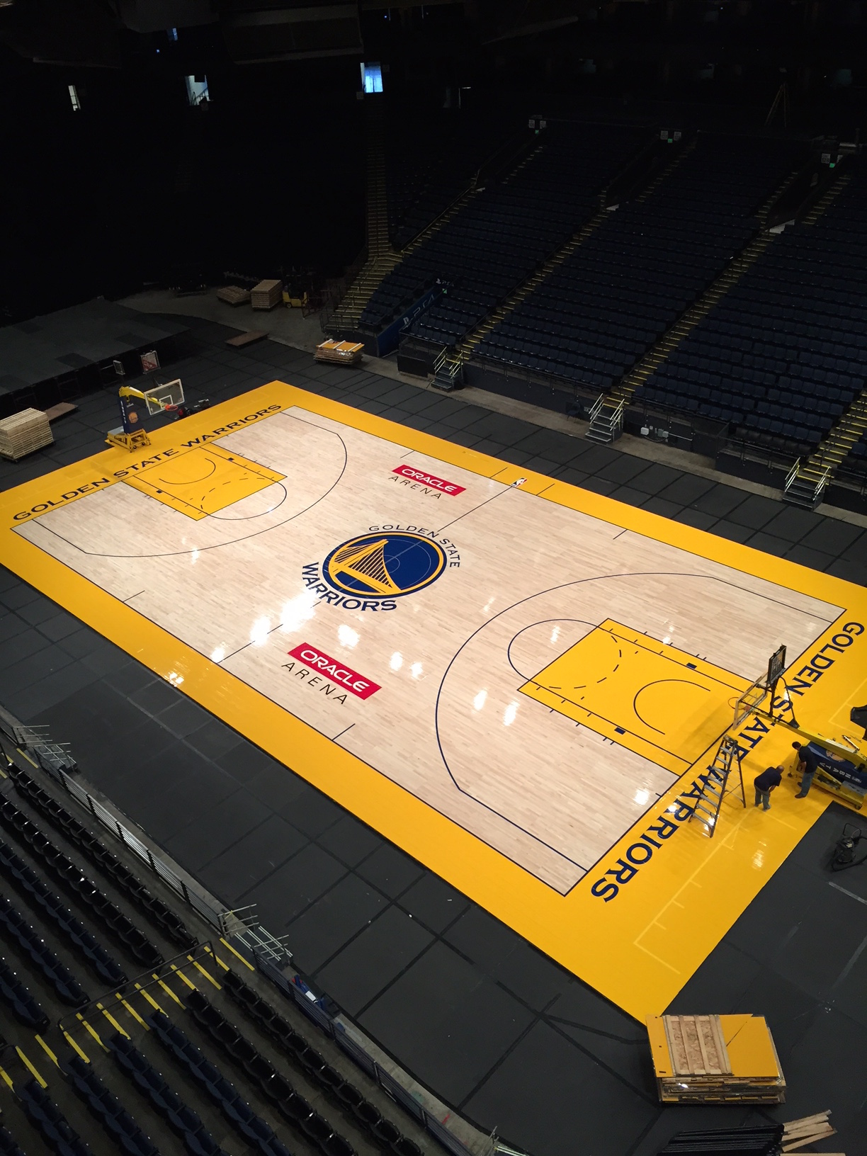 Golden State Warriors Court
