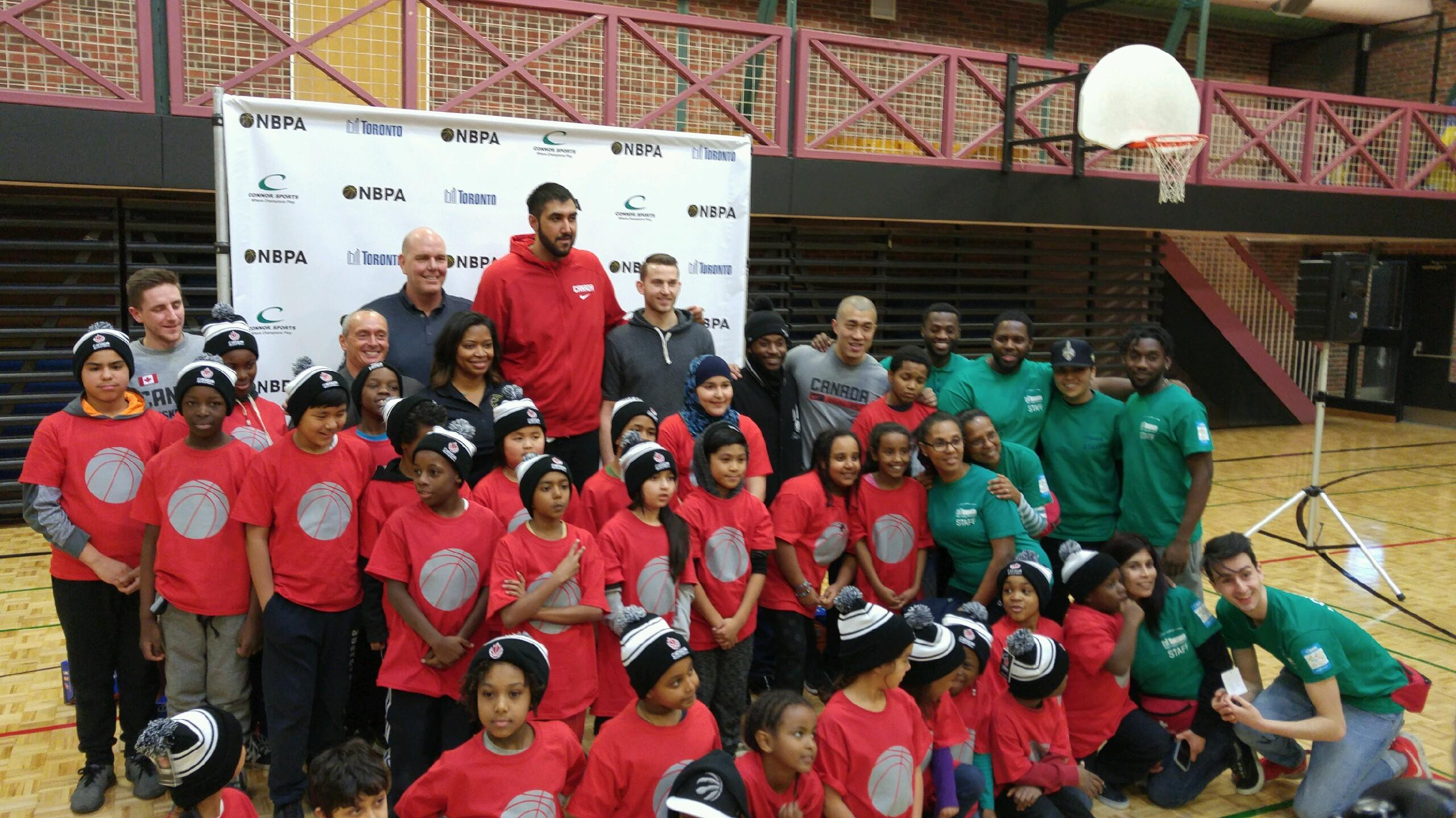 Champions of Community: Connor Sports, NBPA Foundation and City of Toronto Partner to Refurbish Courts at NBA All Star