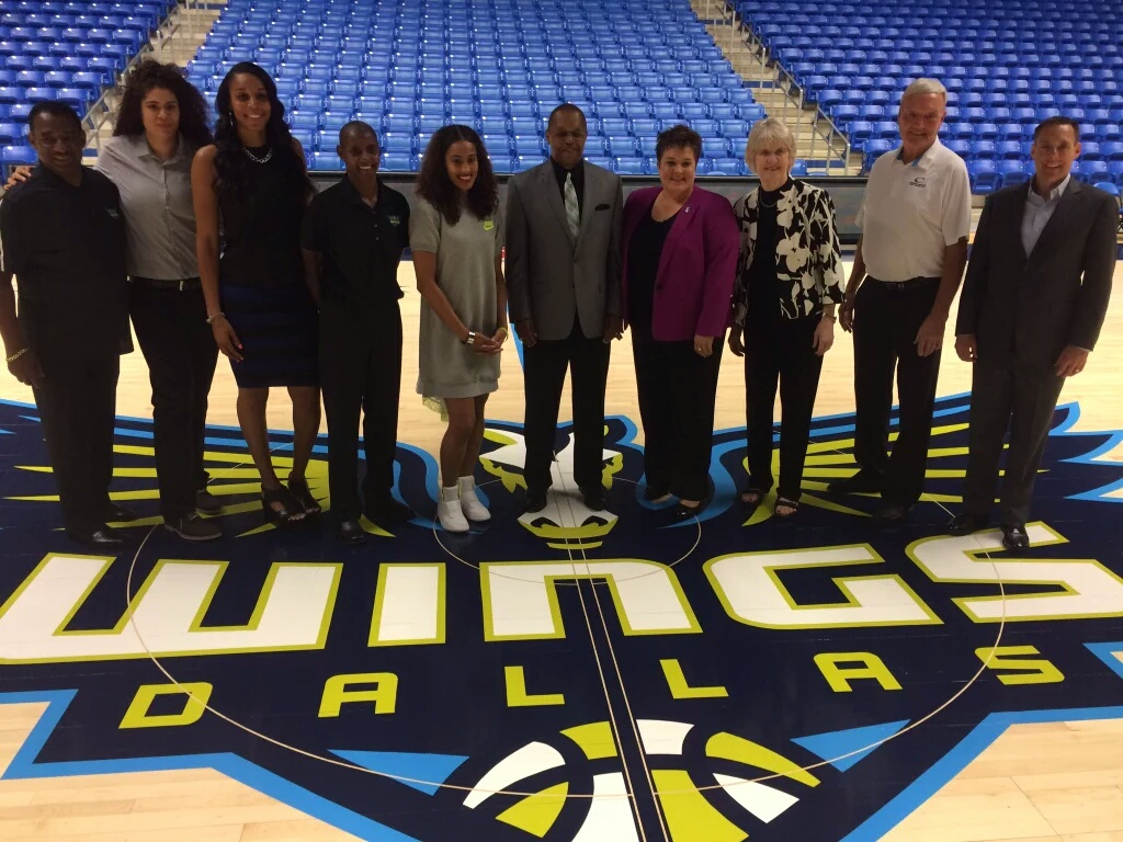 Dallas Wings Basketball Court