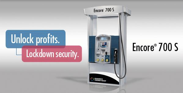 Encore 700 S Gas Dispenser