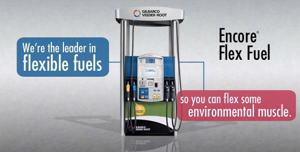 Encore Flex Fuel Dispenser