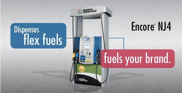 Encore NJ4 Flex Fuel Dispenser