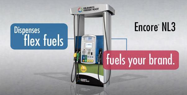 Encore NL3 Flex Fuel Dispenser