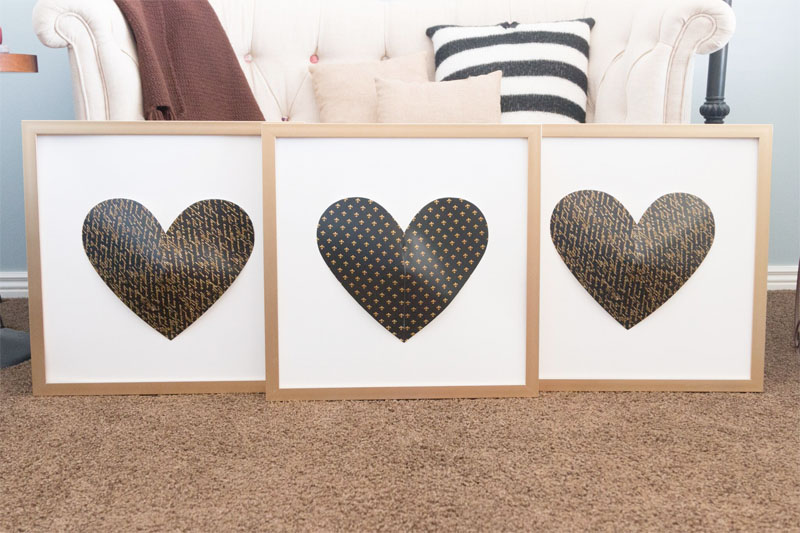 Paper Framed Hearts | New View Gifts & Accessories