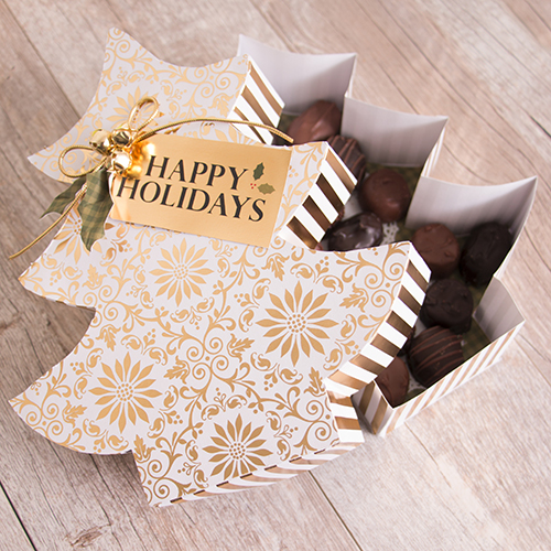 Chocolate gift box—instructions available!