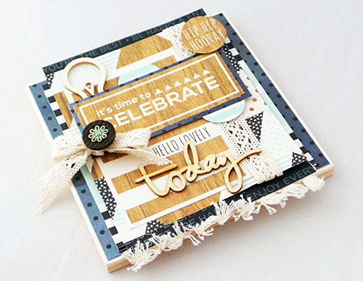 Celebrate Today Keepsake