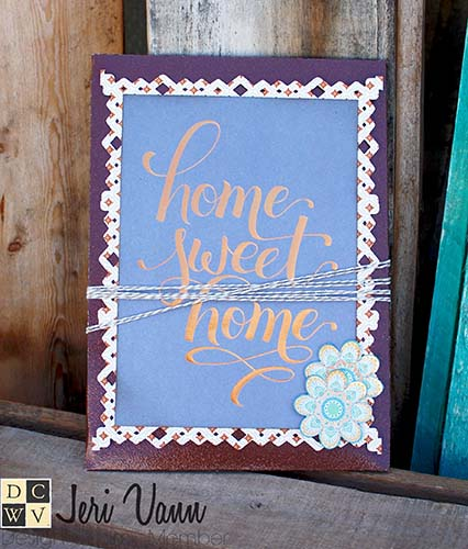 Home Sweet Home Gift Card Holder