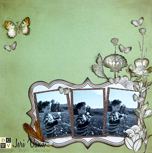 Dandelions and Scrapbooking