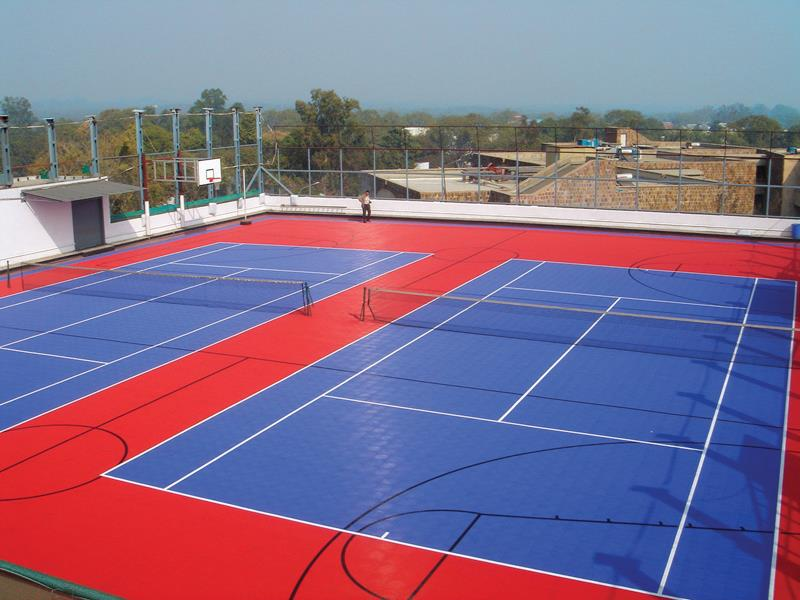 Multi-sport Outdoor-court Facility Outdoor Sports-Clubs Community-Centers