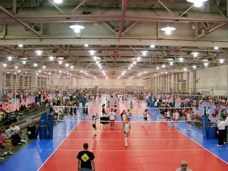 Volleyball Gymnasium Facility Sports-Clubs Indoor