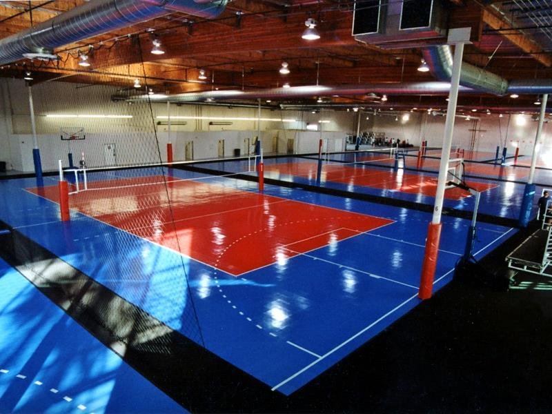 Gymnasium Volleyball Facility Sport