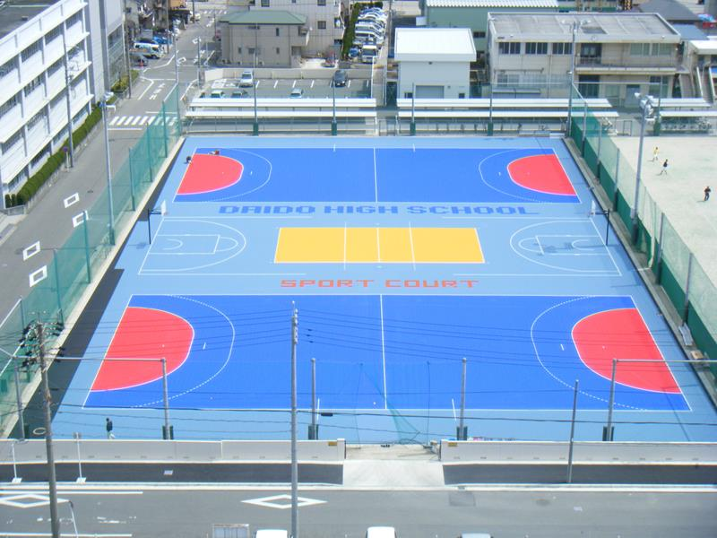 Outdoor-court Accessories Multi-sport Facility Sport Outdoor Parks-Rec