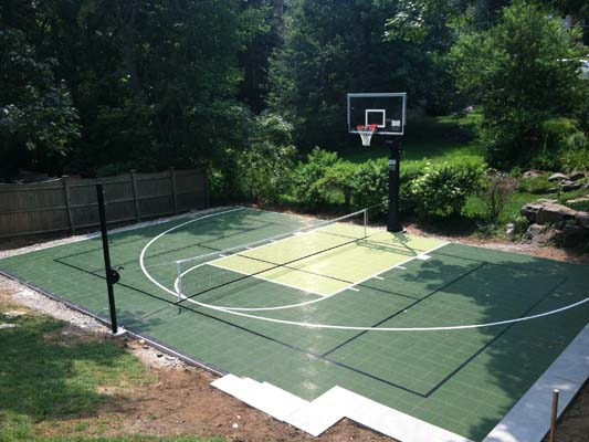 Accesories Basketball Multi-sport Tennis Family Backyard-court Sport Outdoor