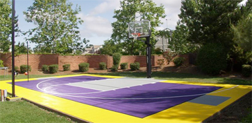 Custom Home Basketball Court