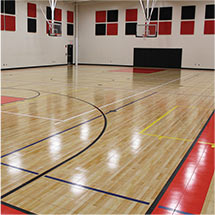 Athletic Facility Gym Flooring by Sport Court Florida & Palm Beach
