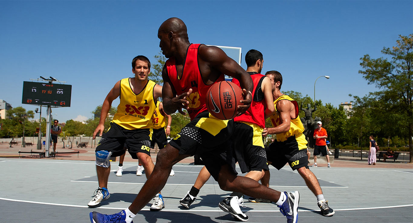 Outdoor Basketball Court Flooring by Sport Court