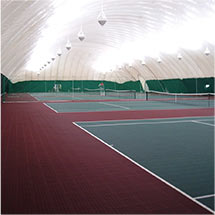 Indoor Tennis Court Surfaces by Sport Court Florida & Palm Beach