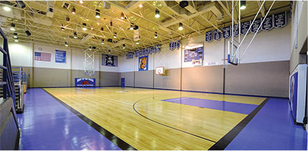 Basketball Court Flooring in Gymnasium by Sport Court Florida & Palm Beach