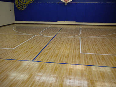 Home Basketball Court Builder and Accessories