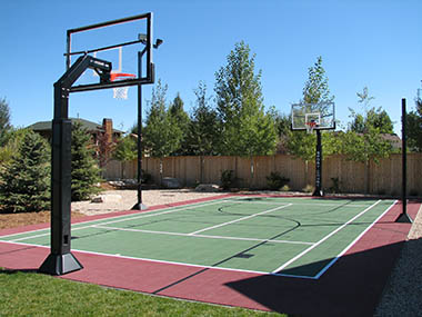Photo gallery sport court southern california southern for Sport court utah
