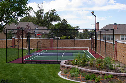 Athletic surfaces and accessories for north carolina and for Sport court utah