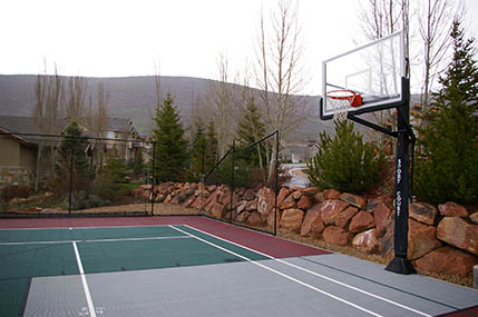 Handball sport court for Sport court utah