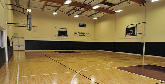 Indoor Basketball Court Builder and Accessories