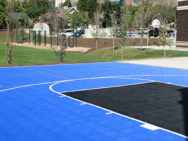 Outdoor Home Gym Basketball Court Facility Builder