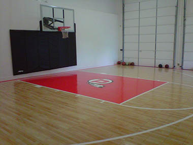 Sport court pictures sport court design build a sport for Sport court utah