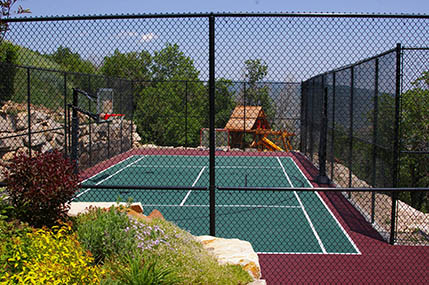 Photo gallery sport court basketball courts flooring for Sport court utah