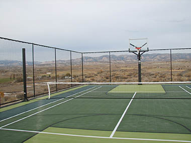 Handball sport court Sport court pricing