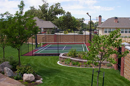Backyard Basketball Court Builder