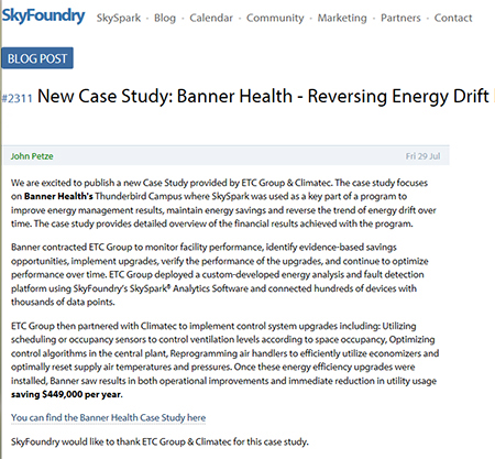 Banner Thunderbird Case Study featured by SkyFoundry