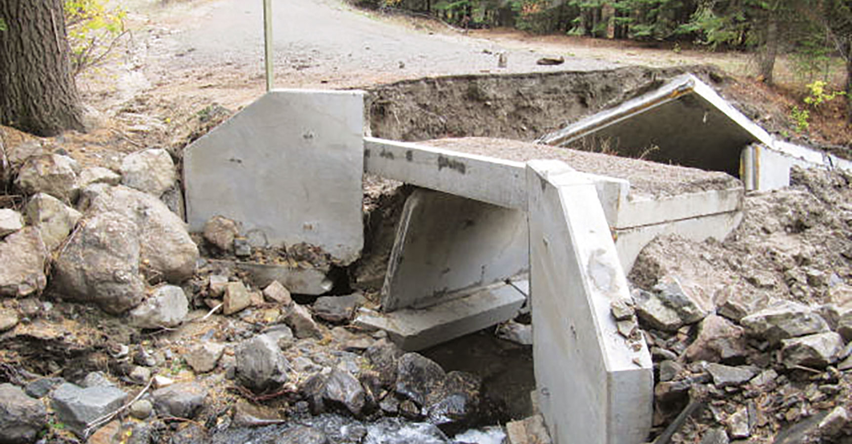 Infrastructure Damage Assessment & Temporary Repairs