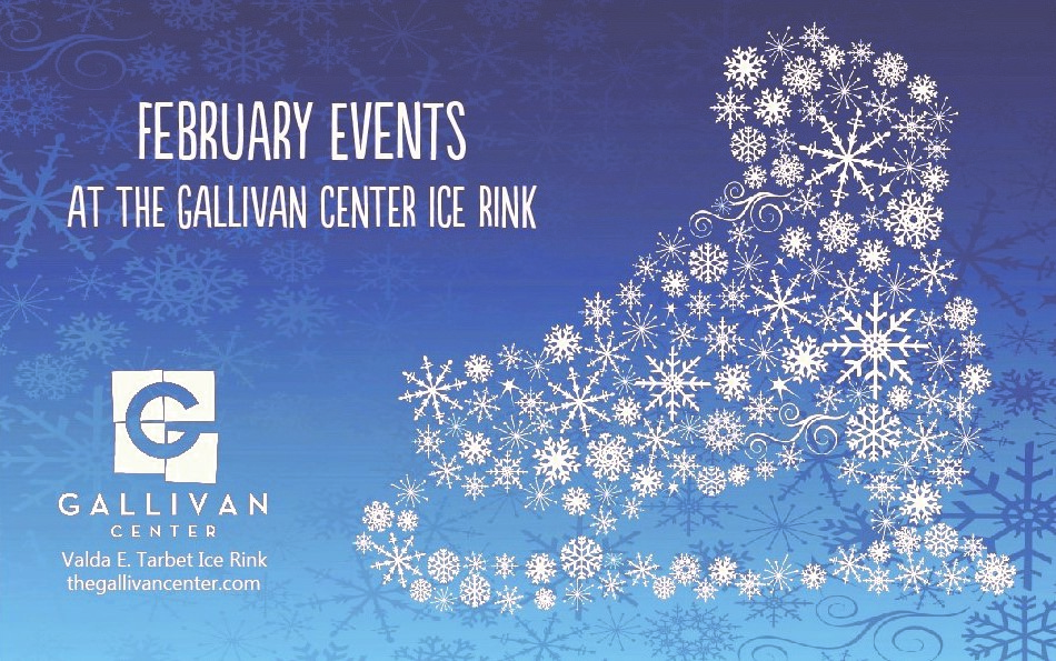 February Fun at the Gallivan Center Ice Rink!