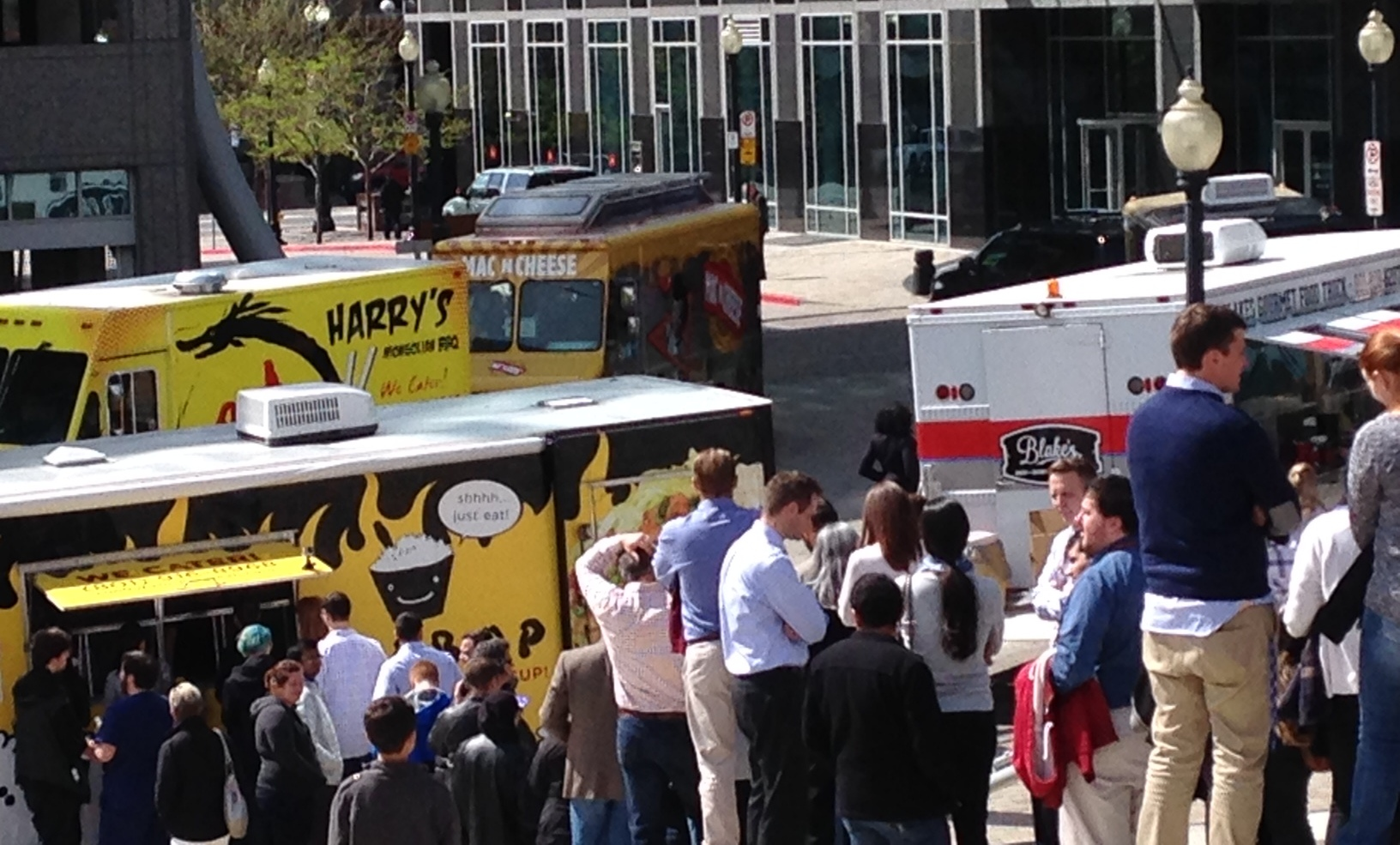 Five Years of Food Truck Thursdays Fun at the Gallivan Center!