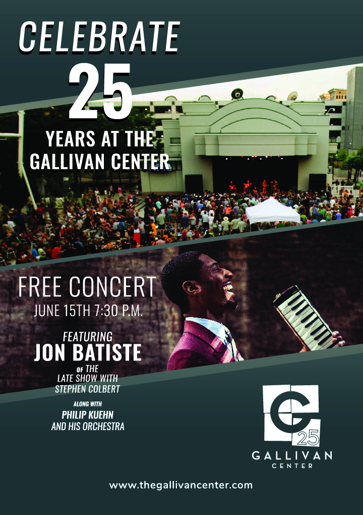 The Gallivan Center's 25th Anniversary Concert
