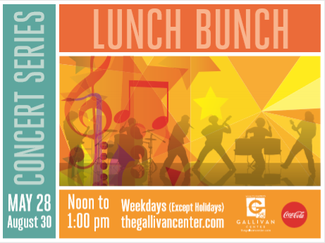 We Have A Hunch You're Going To Love 2019 The Lunch Bunch Concert Series