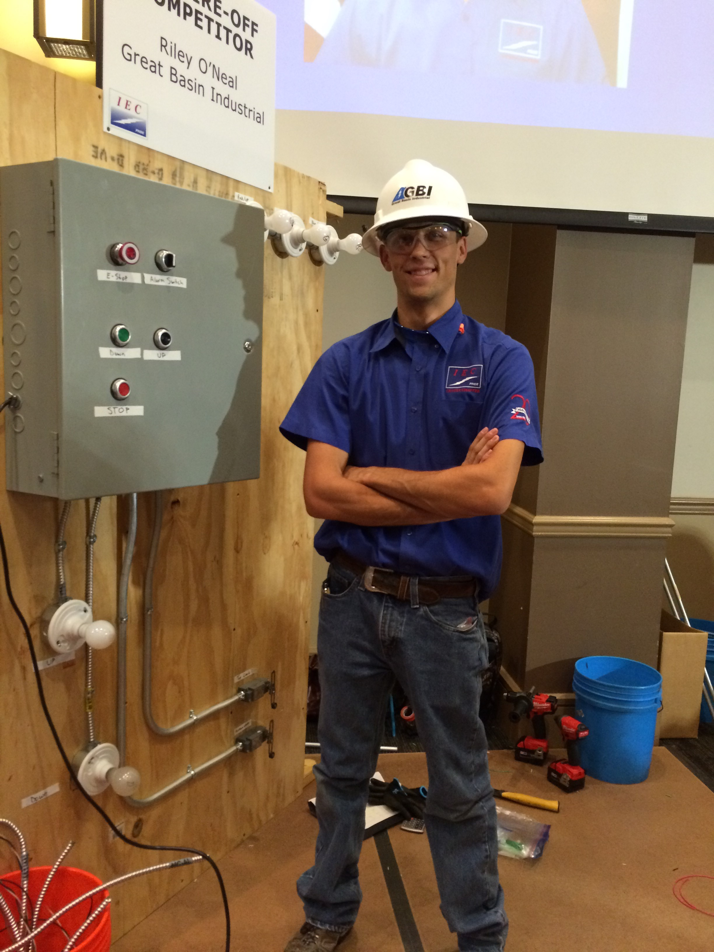 GBI's Riley O'Neal Wins Regional IEC Wire Competition