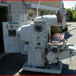 Brown & Sharp 310 Dynamaster HD Vertical Mill #6490
