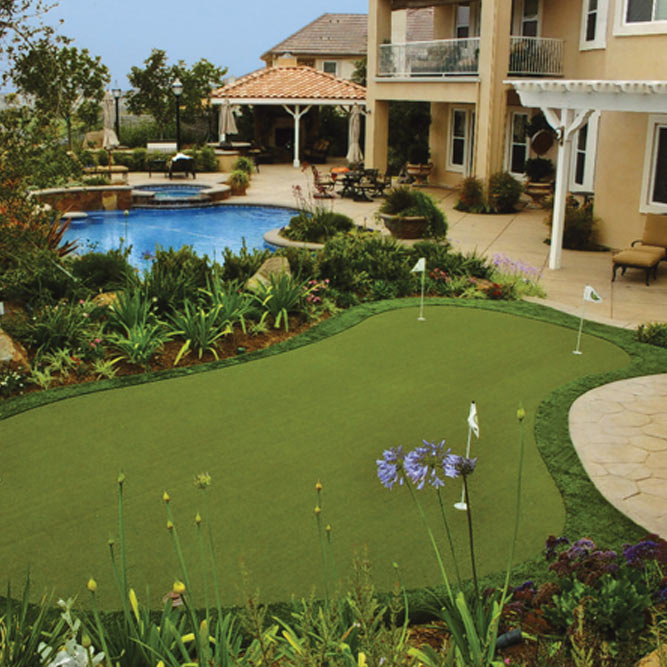 Sport Court Synthetic Home Putting Green