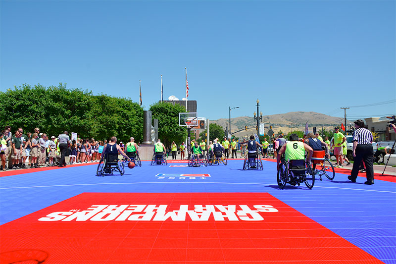 2016 Wheelchair Games in Salt Lake City, UT