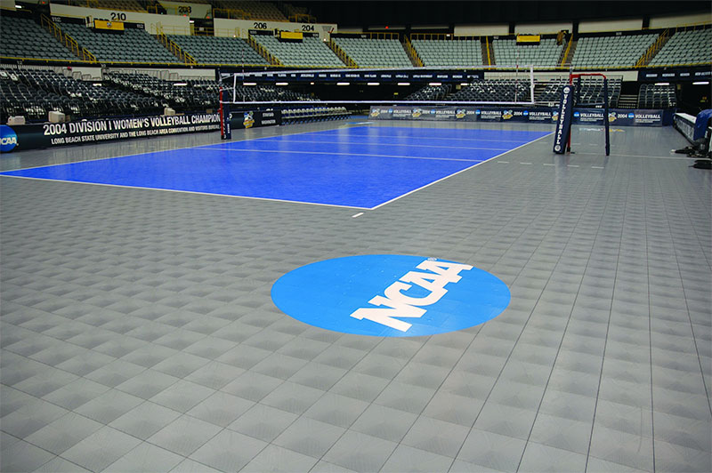 NCAA Volleyball Court by Sport Court