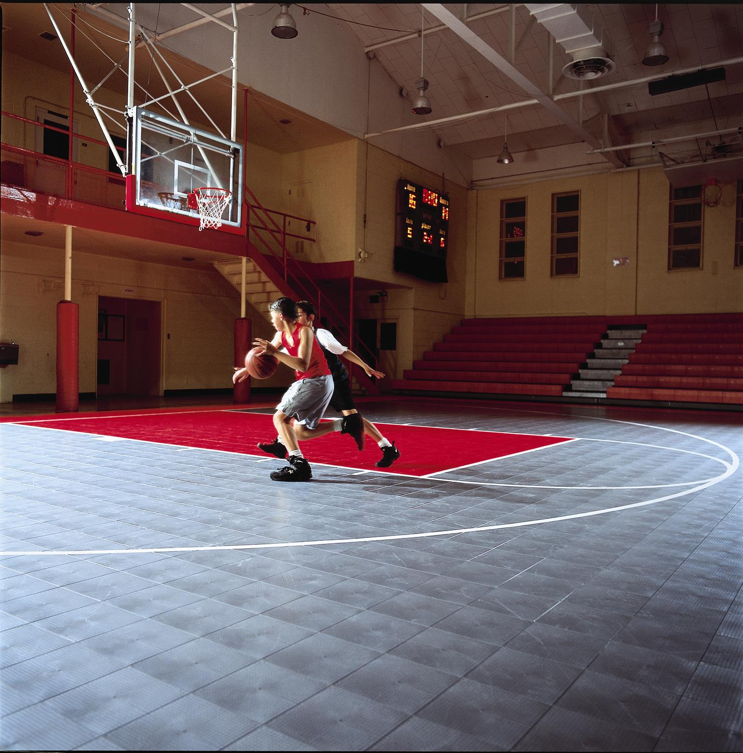 Indoor Basketball Court by Sport Court
