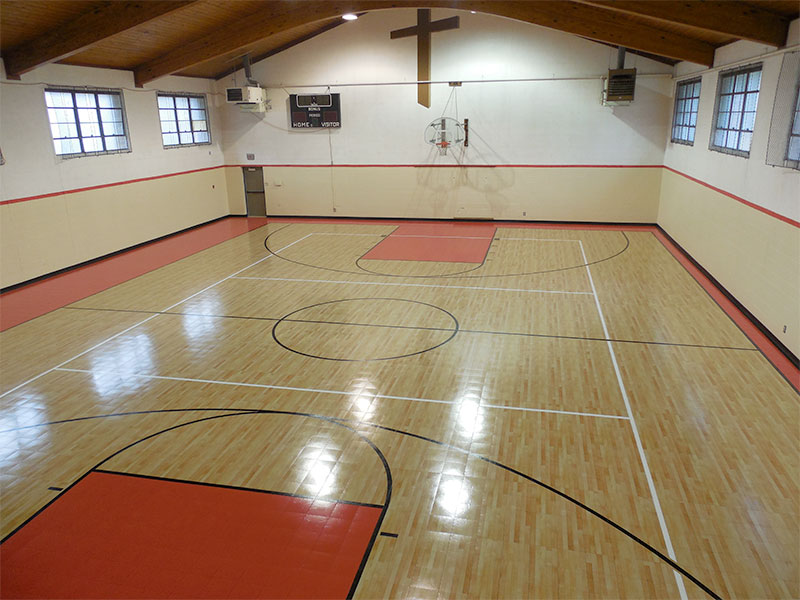 Multi-Sport Gymnasium Court by Sport Court
